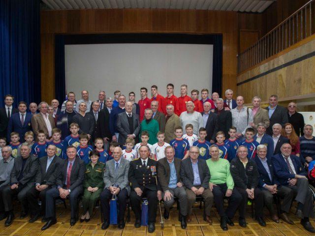 Ветераны легендарного ЦСК ВМФ