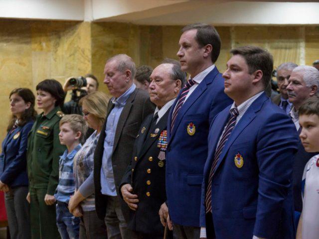 Минута молчания памяти ушедших игроков ЦСК ВМФ