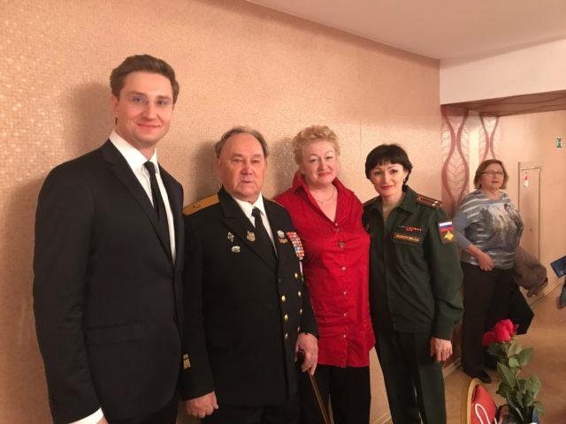 После встречи ветеранов ЦСК ВМФ