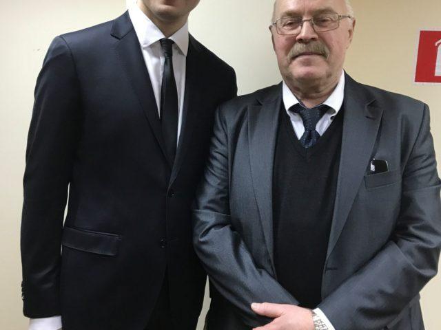 С многократным Чемпионом СССР и Европы Сергеем Рудаковым