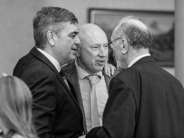 Легенды спорта Евгений Шаронов, Евгений Гришин и Б.Д. Гришин