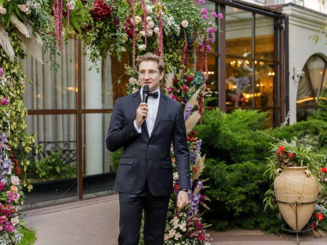 Выездная церемония бракосочетания в итальянском ресторане Белладжио