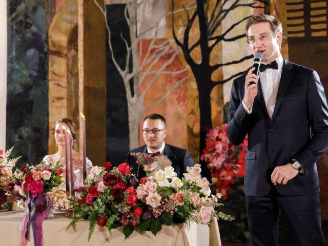 Осенняя свадьба в ресторане Белладжио
