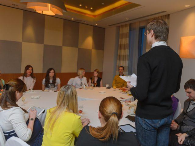 Открытие деловой встречи директоров