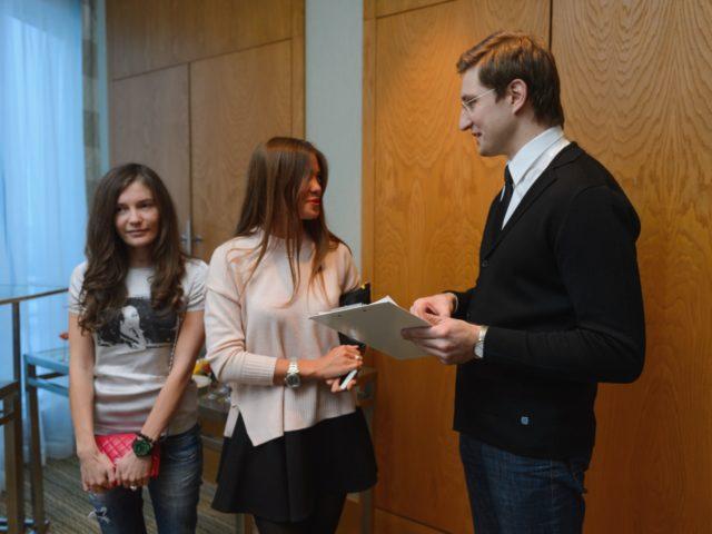 Регистрация участников бизнес встречи