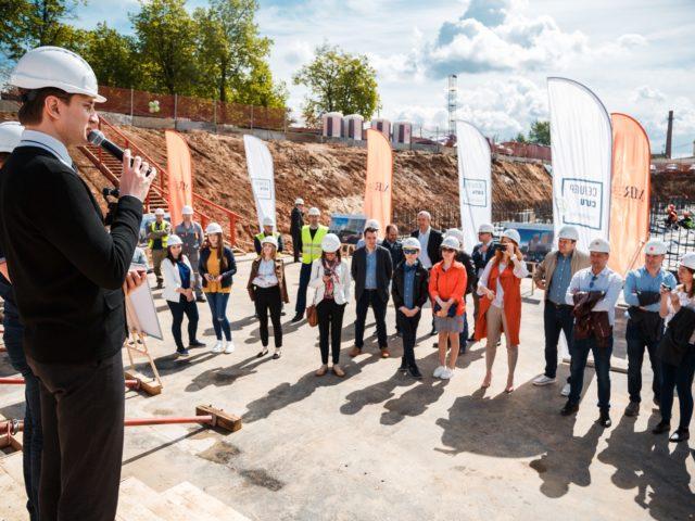 Проведение церемонии открытия Первого Куба бетона и Капсулы Времени ЖК Селигер Сити