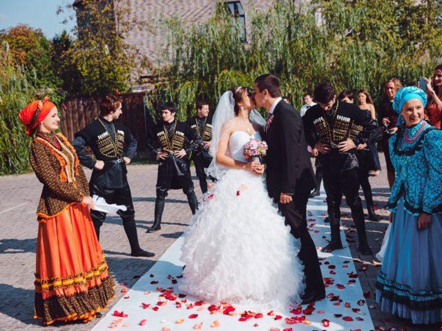 Национальные традиции на современной свадьбе