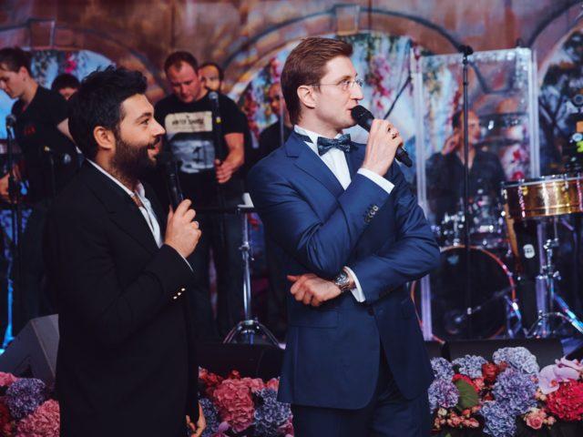 Алексей Чумаков и Роман Акимов на красивой свадьбе в Немчиновке
