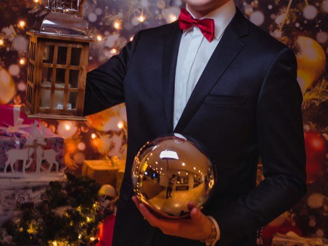 Ведущий Christmas Party Роман Акимов