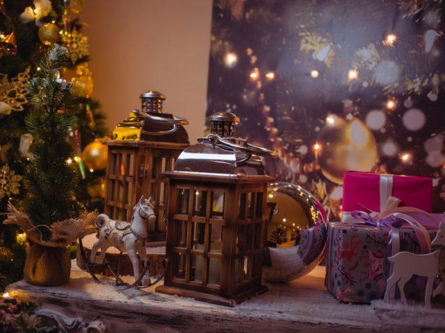 Рождественский декор Double Tree by Hilton