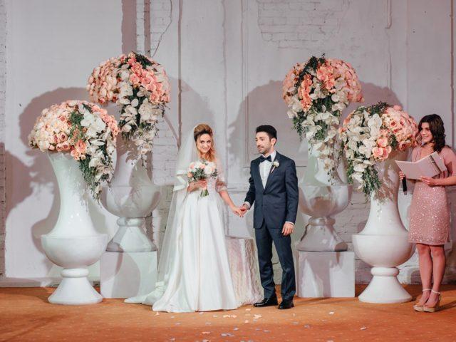 Выездная церемония бракосочетания на армянской свадьбе