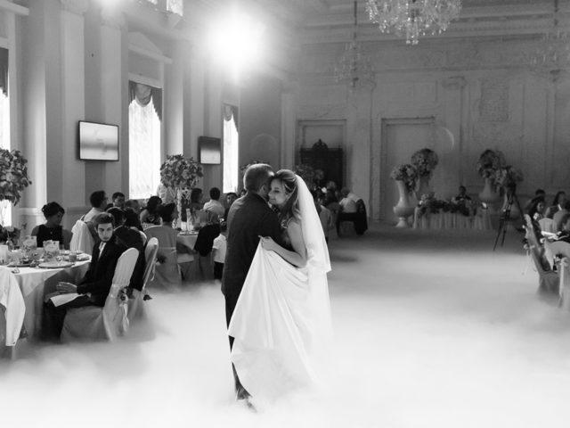 Невеста приглашает отца на белый танец