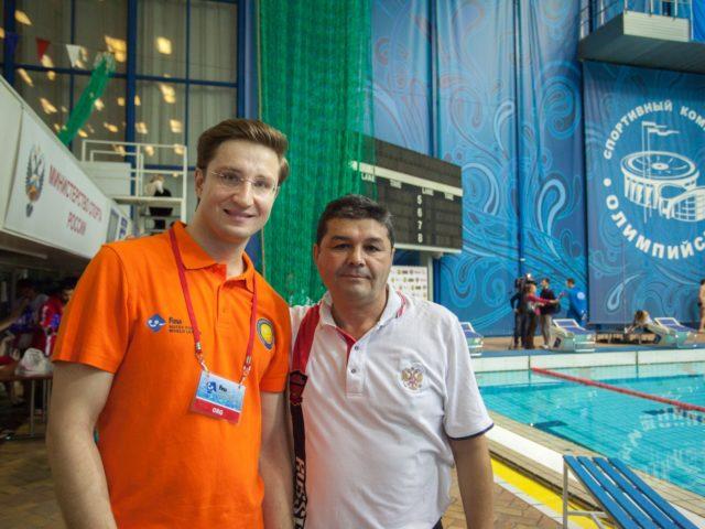 Ведущий Роман Акимов и Олимпийский Чемпион Эркин Шагаев