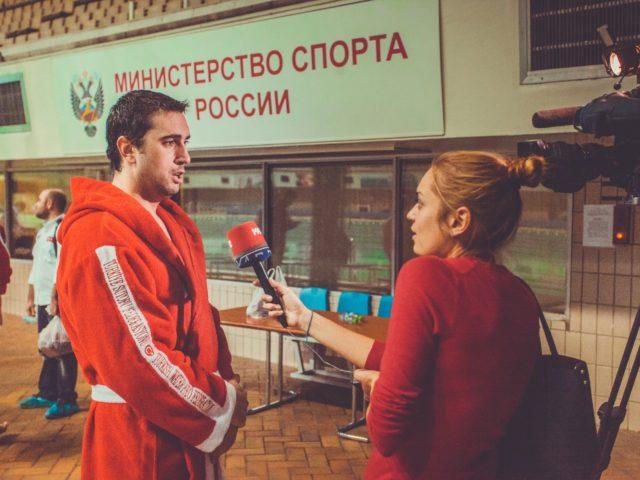 Интервью у игрока сборной Турции по водному поло
