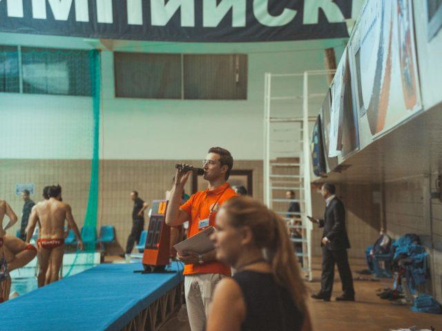 Проведение спортивного мероприятия в СК Олимпийский