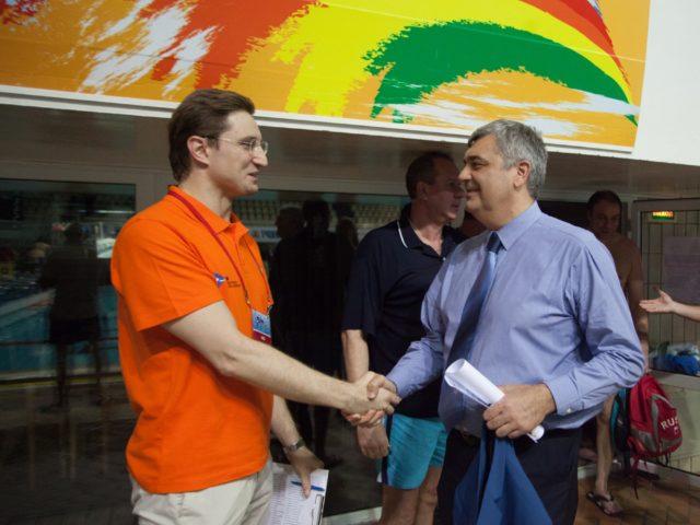 С Олимпийским Чемпионом Евгением Шароновым