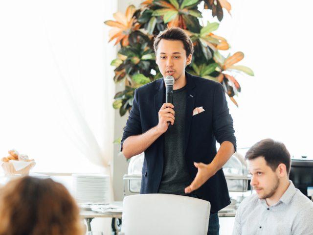 Выступление програмиста Валерия Алексеева