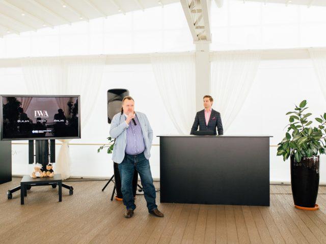 Президент IWA Алексей Майоров открывает программу