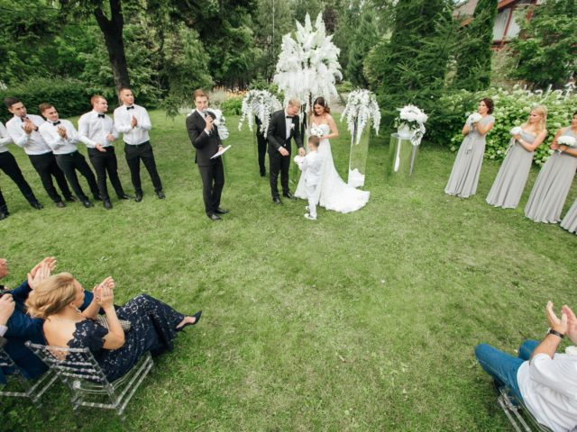 Регистрация брака на природе в Chalet