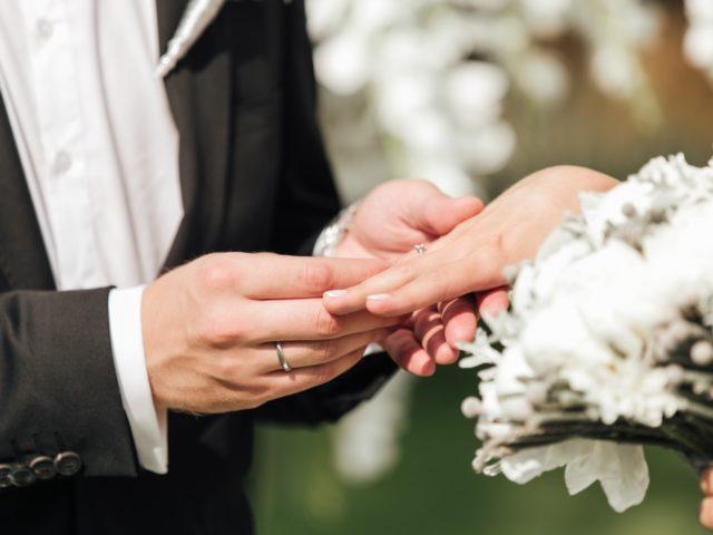 Церемония обмена кольцами