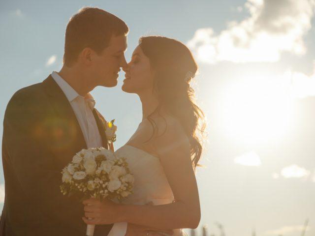 Красивая летняя свадьба Сергея и Катерины на теплоходе
