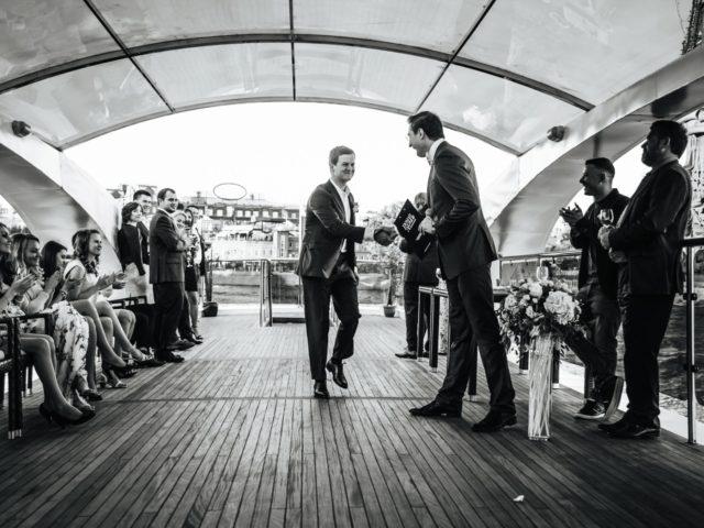 Проведение свадебной церемонии на теплоходе