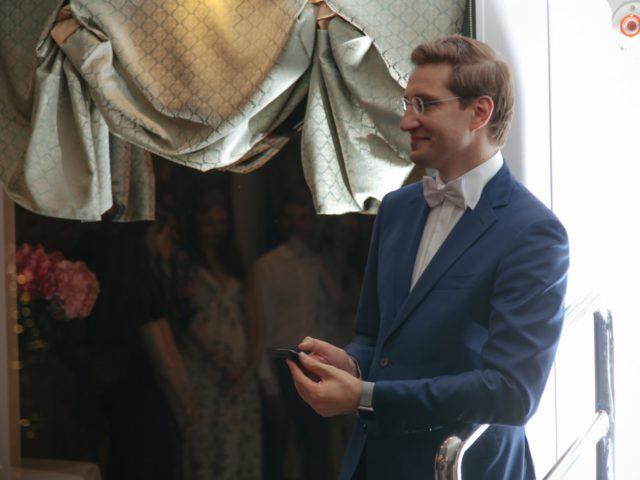Ведущий свадебной вечеринки Роман Акимов
