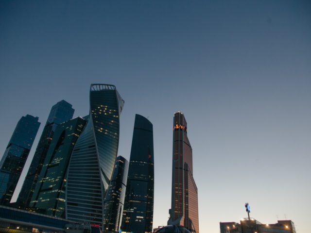 Виды Москвы Сити с теплохода