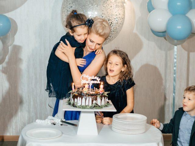 Праздничный торт на Юбилее 35 лет