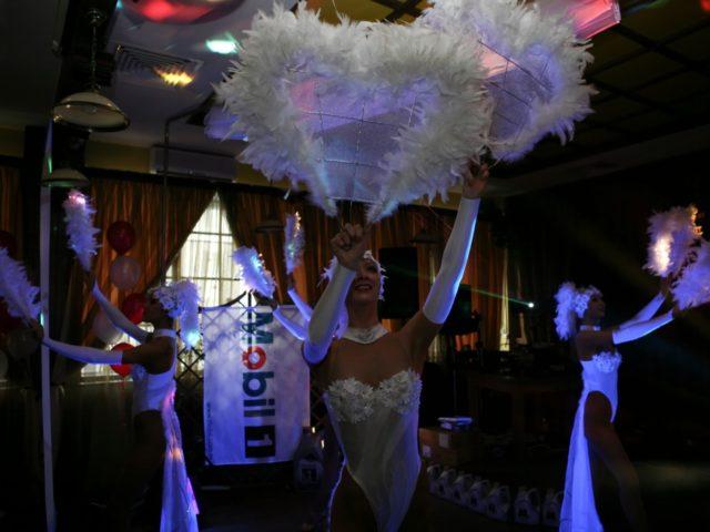 Выступление шоу балета на корпоративной вечеринке Exxon Mobil