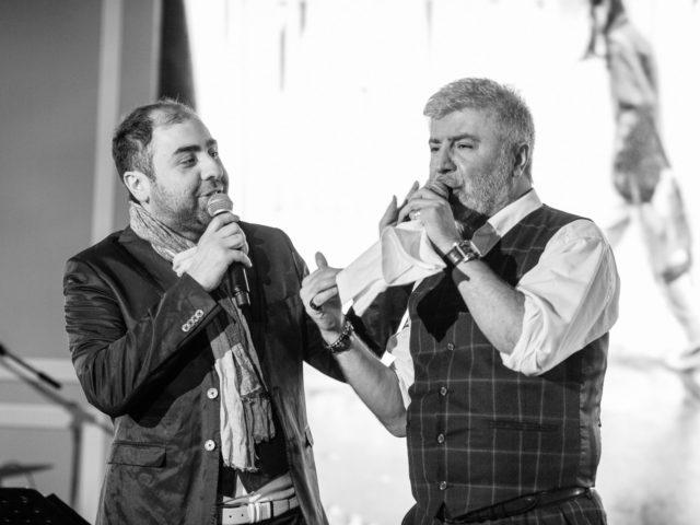 Помолимся за родителей исполняет Сосо Павлиашвили с сыном