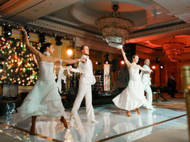 Выступление шоу балета на Юбилее 50 лет