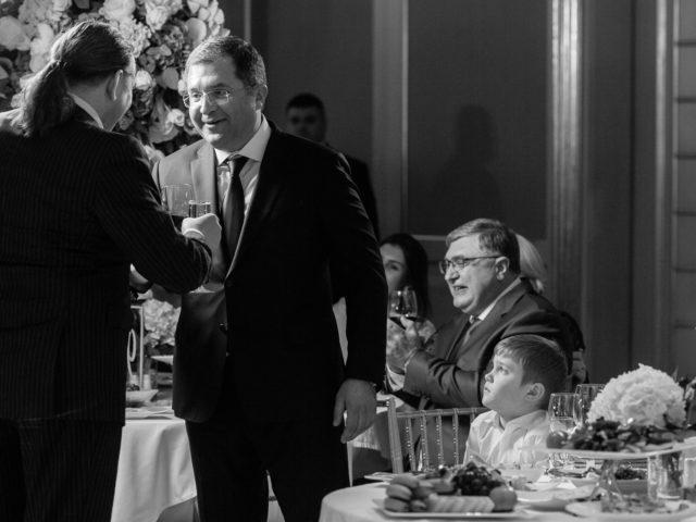 Поздравления дорогих гостей на Юбилее 50 лет