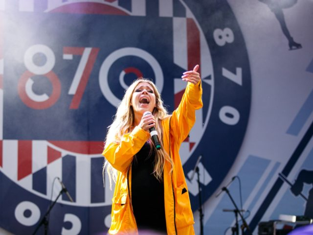 Певица Рита Дакота на Дне Города Москвы