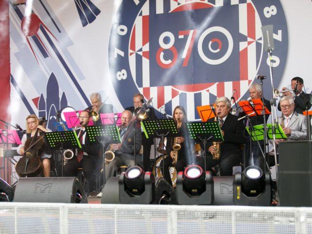 Джаз бэнд на празднике День Города