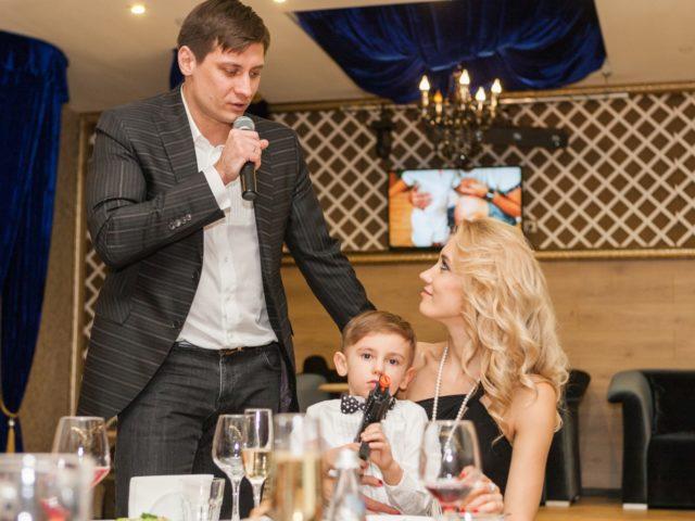 Дмитрий Гудков поздравляет супругу с Юбилеем