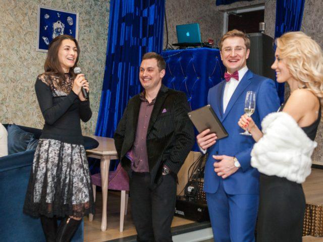 Леру поздравляют Ирина и Владимир Гудковы