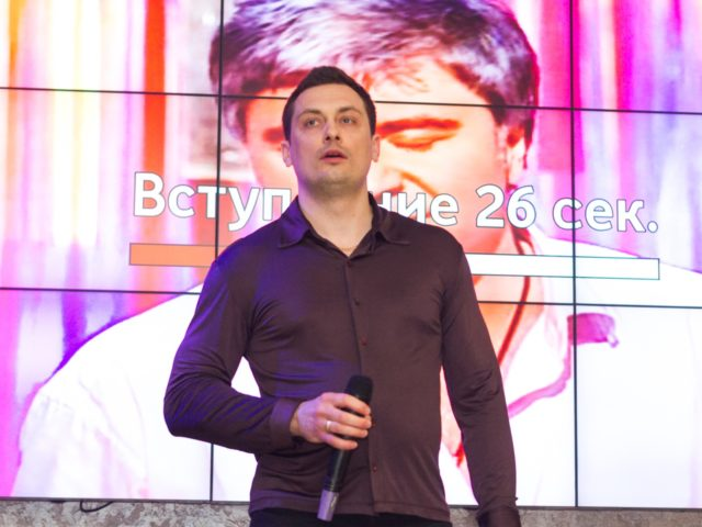 Владимир Гудков на празднике