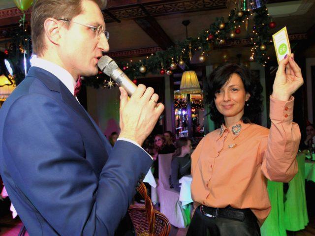 Проведение новогодней лотереи в ресторане Ноев Ковчег