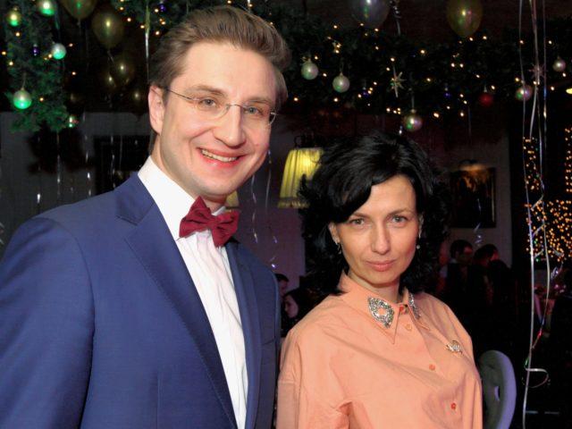 Роман Акимов и Ирина Карпенко управляющая рестораном Новый Ковчег