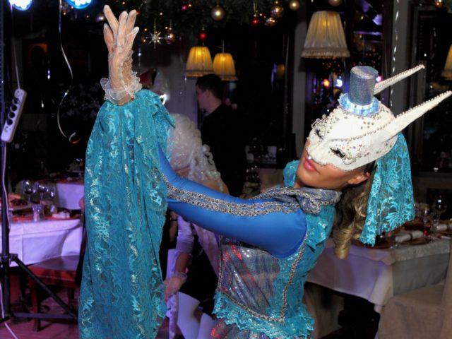 Шоу балет в Венецианском стиле на Новый Год