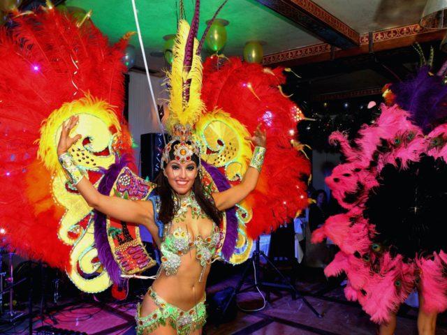 Блок Латинская Америка на тематическом Новогоднем празднике