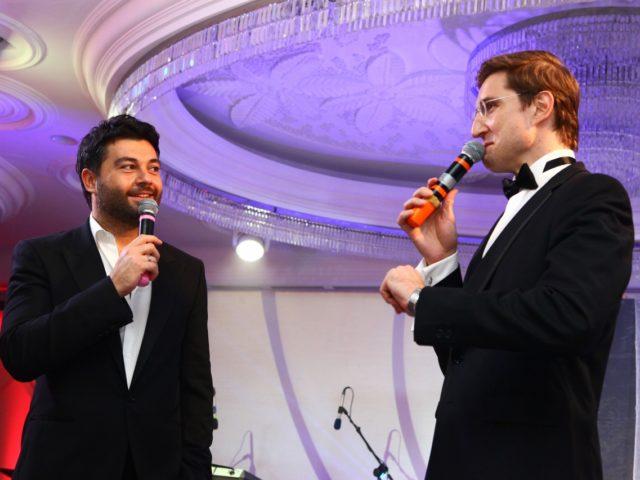 Алексей Чумаков и Роман Акимов. Юбилей в Иркутске
