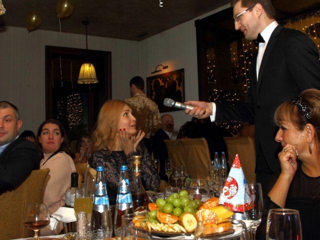 Новый Год в армянском ресторане Ноев Ковчег