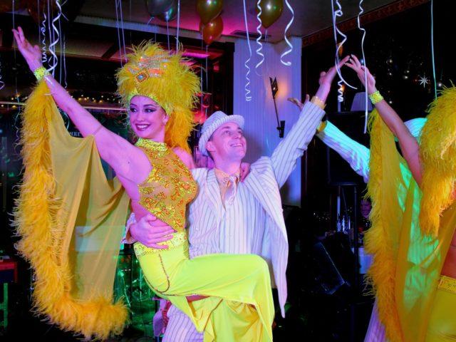 Шоу балет на Новый Год в стиле Великий Гэтсби
