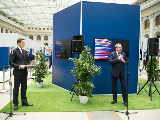 Выступление В.А. Фадеева на открытии церемонии награждения финалистов