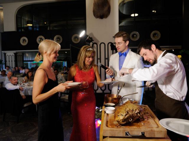 Кулинарный мастер-класс на Юбилее 50 лет