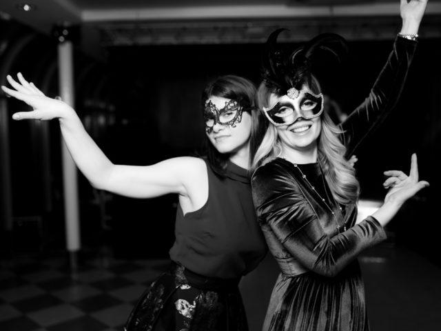 Гости вечеринки Венецианский карнавал Булгари