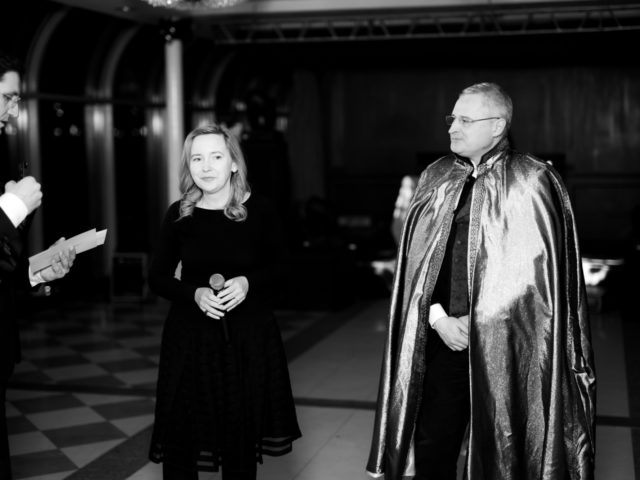 Проведение церемонии награждения Булгари