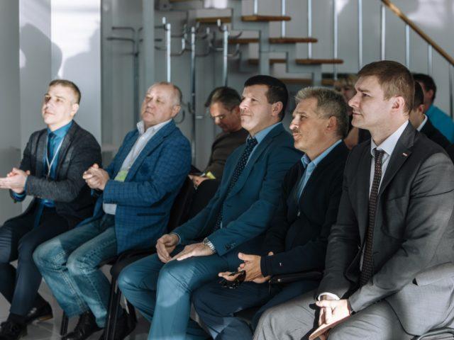 Первые лица и топ менеджмент компаний организаторов презентации